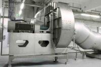 Food centrifugal fan