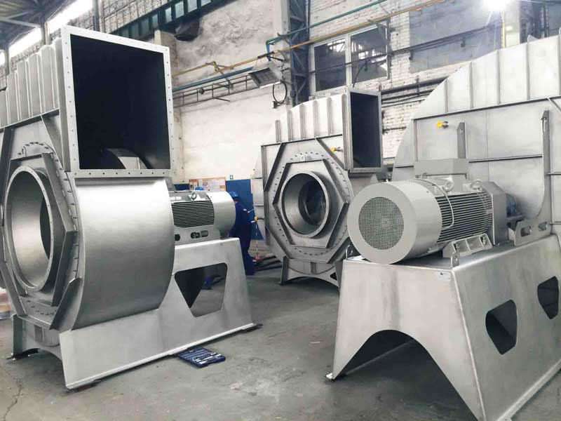 Industrial fan centrifugal