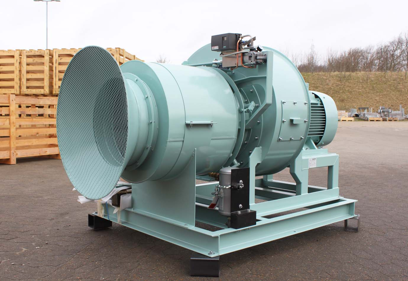 Shipping centrifugal fan