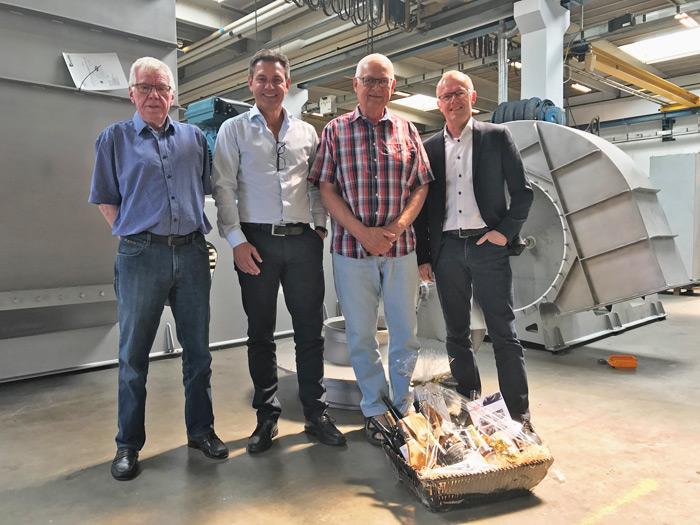 Gustav Feldstedt og Søren Wahlgren på pension